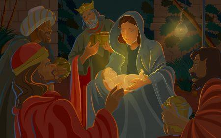 Papel de parede Jesus Nasceu! para download gratuito. Use no computador pc, mac, macbook, celular, smartphone, iPhone, onde quiser!