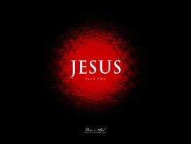 Papel de parede Jesus paz e vida
