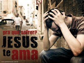 Papel de parede Jesus te ama