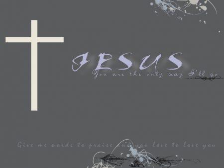 Papel de parede Jesus, único caminho para download gratuito. Use no computador pc, mac, macbook, celular, smartphone, iPhone, onde quiser!