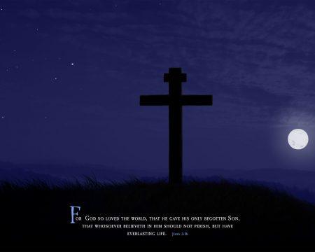 Papel de parede João 3:16 para download gratuito. Use no computador pc, mac, macbook, celular, smartphone, iPhone, onde quiser!