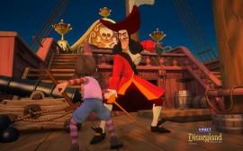Papel de parede Jogo Aventuras na Disneylândia, Duelo com Capitão Gancho