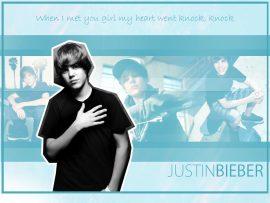 Papel de parede Justin Bieber – Knock Knock
