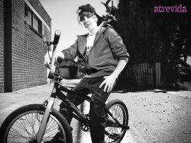 Papel de parede Justin Bieber – Na Bicicleta