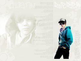 Papel de parede Justin Bieber – One Time