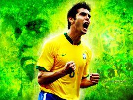 Papel de parede Kaká – Brasil