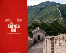 Papel de parede Karate Kid – China