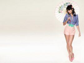 Papel de parede Katy Perry – Sombrinha