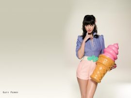 Papel de parede Katy Perry – Sorvete