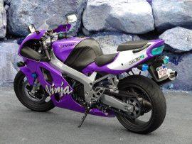 Papel de parede Kawasaki Ninja lilás