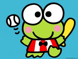 Papel de parede Keroppi – Baseball