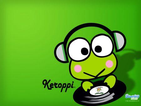 Papel de parede Keroppi – DJ para download gratuito. Use no computador pc, mac, macbook, celular, smartphone, iPhone, onde quiser!