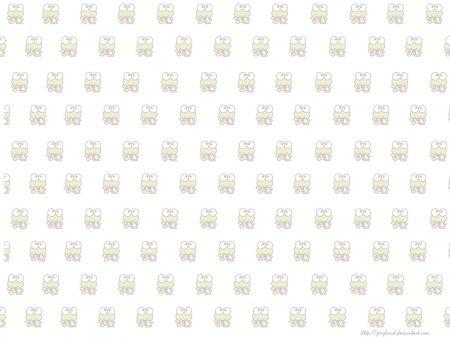 Papel de parede Keroppi – Estampa para download gratuito. Use no computador pc, mac, macbook, celular, smartphone, iPhone, onde quiser!