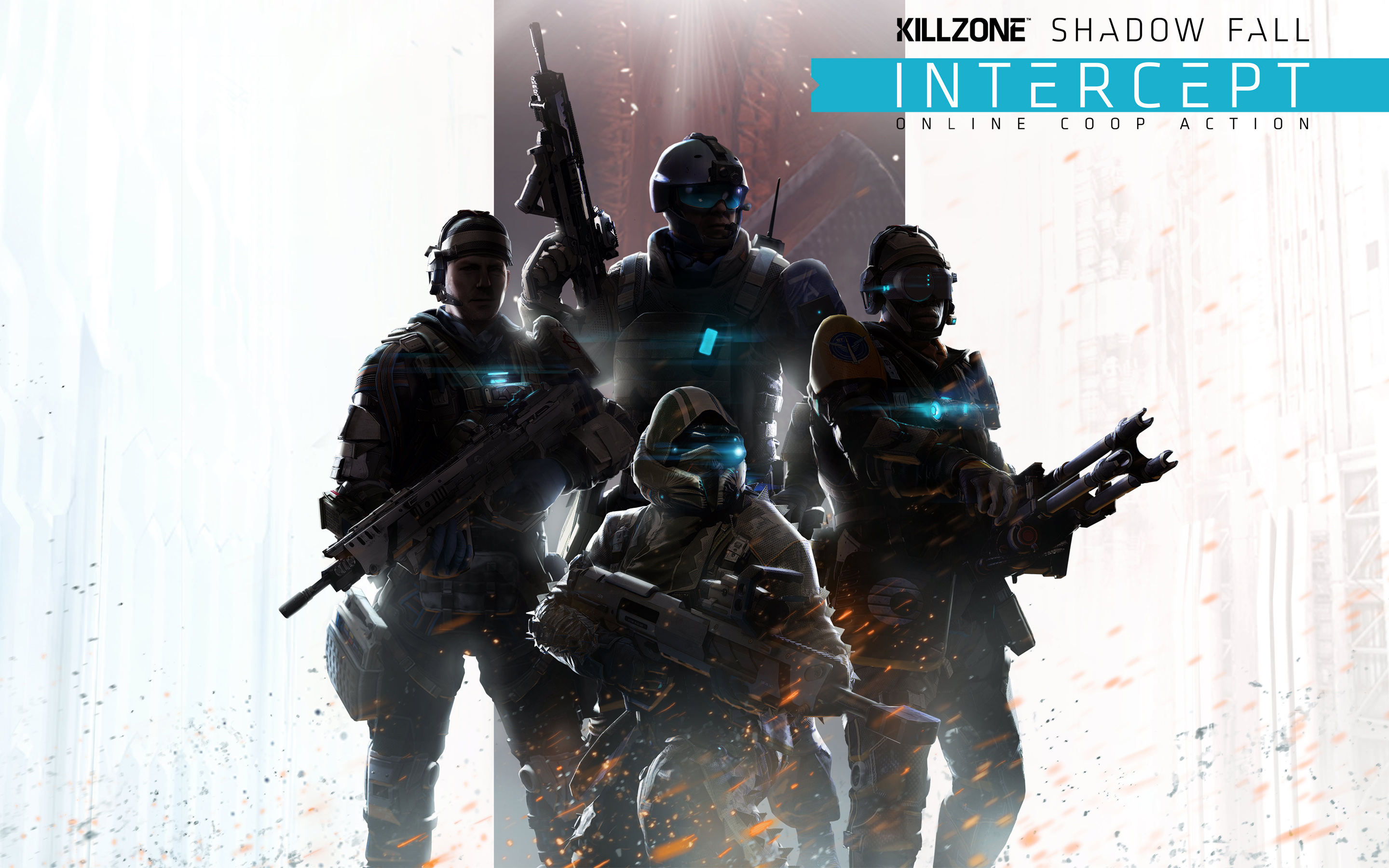 Papel de parede Killzone: Shadow Fall – Intercept para download gratuito. Use no computador pc, mac, macbook, celular, smartphone, iPhone, onde quiser!