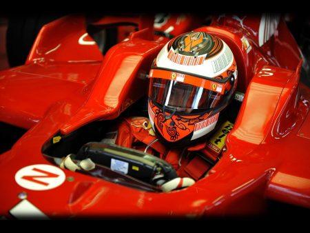 Papel de parede Kimi – Ferrari para download gratuito. Use no computador pc, mac, macbook, celular, smartphone, iPhone, onde quiser!