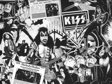 Papel de parede Kiss para download gratuito. Use no computador pc, mac, macbook, celular, smartphone, iPhone, onde quiser!