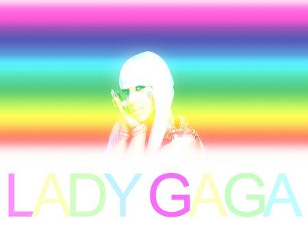 Papel de parede Lady Gaga – Arco-iris para download gratuito. Use no computador pc, mac, macbook, celular, smartphone, iPhone, onde quiser!