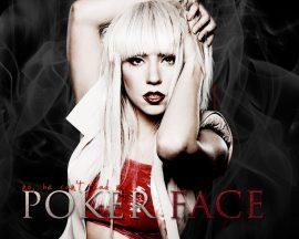 Papel de parede Lady Gaga – Poker Face