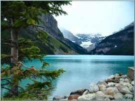 Papel de parede Lago Louise – Canadá