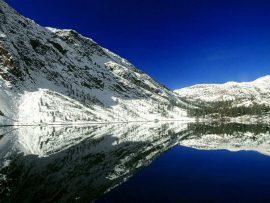 Papel de parede Lago no Inverno