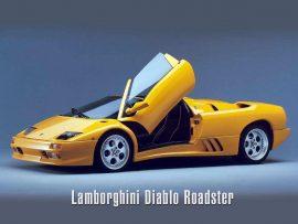 Papel de parede Lamborghini Diablo Roadster