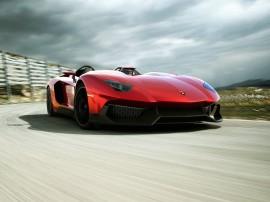 Papel de parede Lamborghini Aventador J – Super Carro