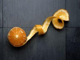Papel de parede Laranja fruta