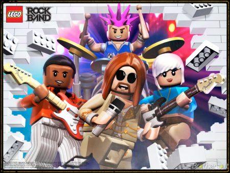 Papel de parede Lego Rockband para download gratuito. Use no computador pc, mac, macbook, celular, smartphone, iPhone, onde quiser!