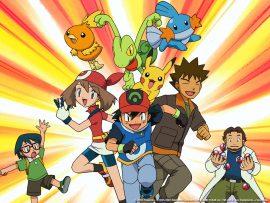 Papel de parede Liga Juto Pokémon