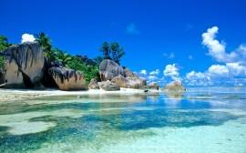 Papel de parede Linda Praia de Seychelles