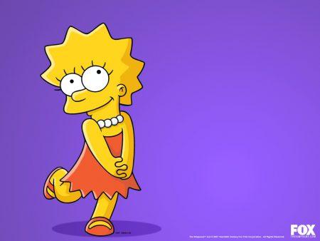 Papel de parede Lisa Simpson para download gratuito. Use no computador pc, mac, macbook, celular, smartphone, iPhone, onde quiser!