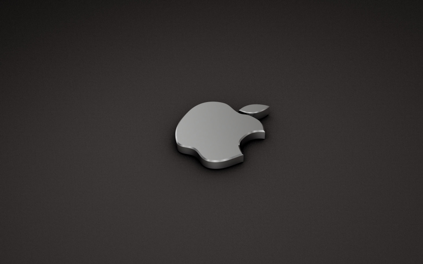 Papel de parede logo apple pratiado wallpaper para for Papel de pared plata