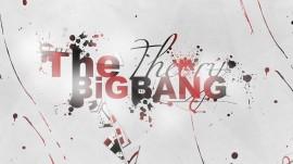 Papel de parede Logo The Big Bang Theory