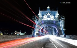 Papel de parede Tower Bridge Iluminada
