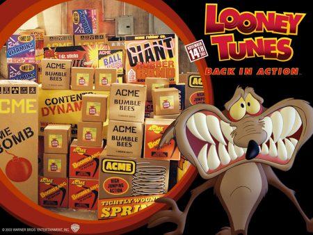 Papel de parede Looney Tunes – Coiote e as Bombas para download gratuito. Use no computador pc, mac, macbook, celular, smartphone, iPhone, onde quiser!