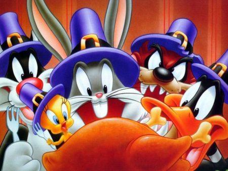 Papel de parede Looney Tunes – Dia de ação de graças para download gratuito. Use no computador pc, mac, macbook, celular, smartphone, iPhone, onde quiser!