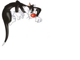 Papel de parede Looney Tunes – Frajola