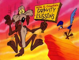Papel de parede Looney Tunes – Papa-léguas e Coiote