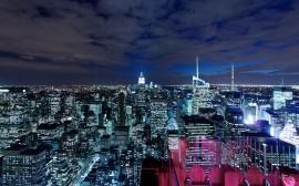 Papel de parede A Noite em Manhattan