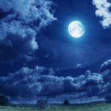 Papel de parede Lua Cheia Brilhante
