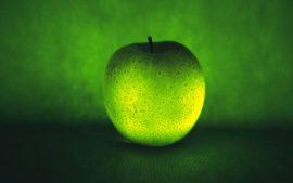 Papel de parede Maçã – Verde