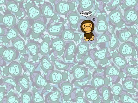 Papel de parede Macaco Bebê para download gratuito. Use no computador pc, mac, macbook, celular, smartphone, iPhone, onde quiser!