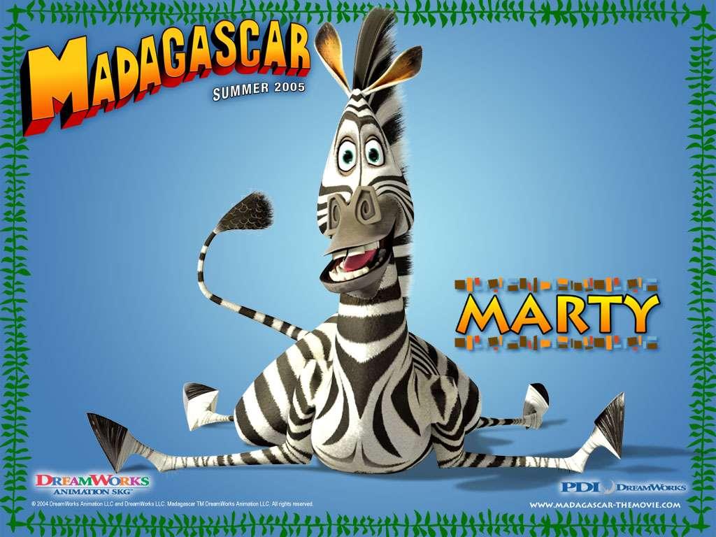 Papel de parede Madagascar: Marty para download gratuito. Use no computador pc, mac, macbook, celular, smartphone, iPhone, onde quiser!