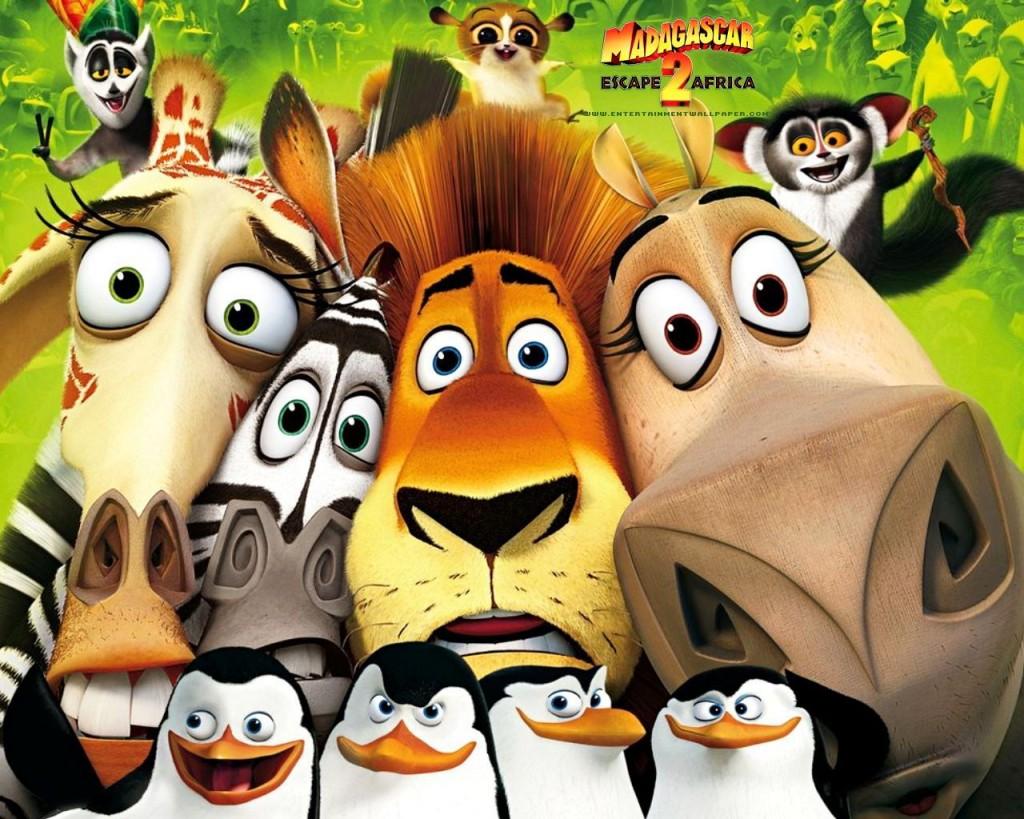 Papel de parede Madagascar 2 para download gratuito. Use no computador pc, mac, macbook, celular, smartphone, iPhone, onde quiser!