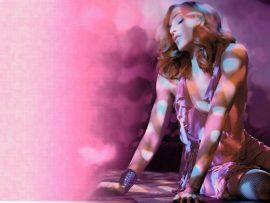 Papel de parede Madonna – Bela