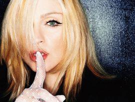 Papel de parede Madonna – Silêncio