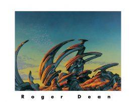 Papel de parede Mais da obra de Roger Dean