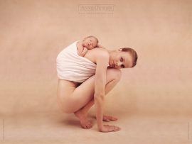 Papel de parede Mamãe e Bebê – Anne Geddes