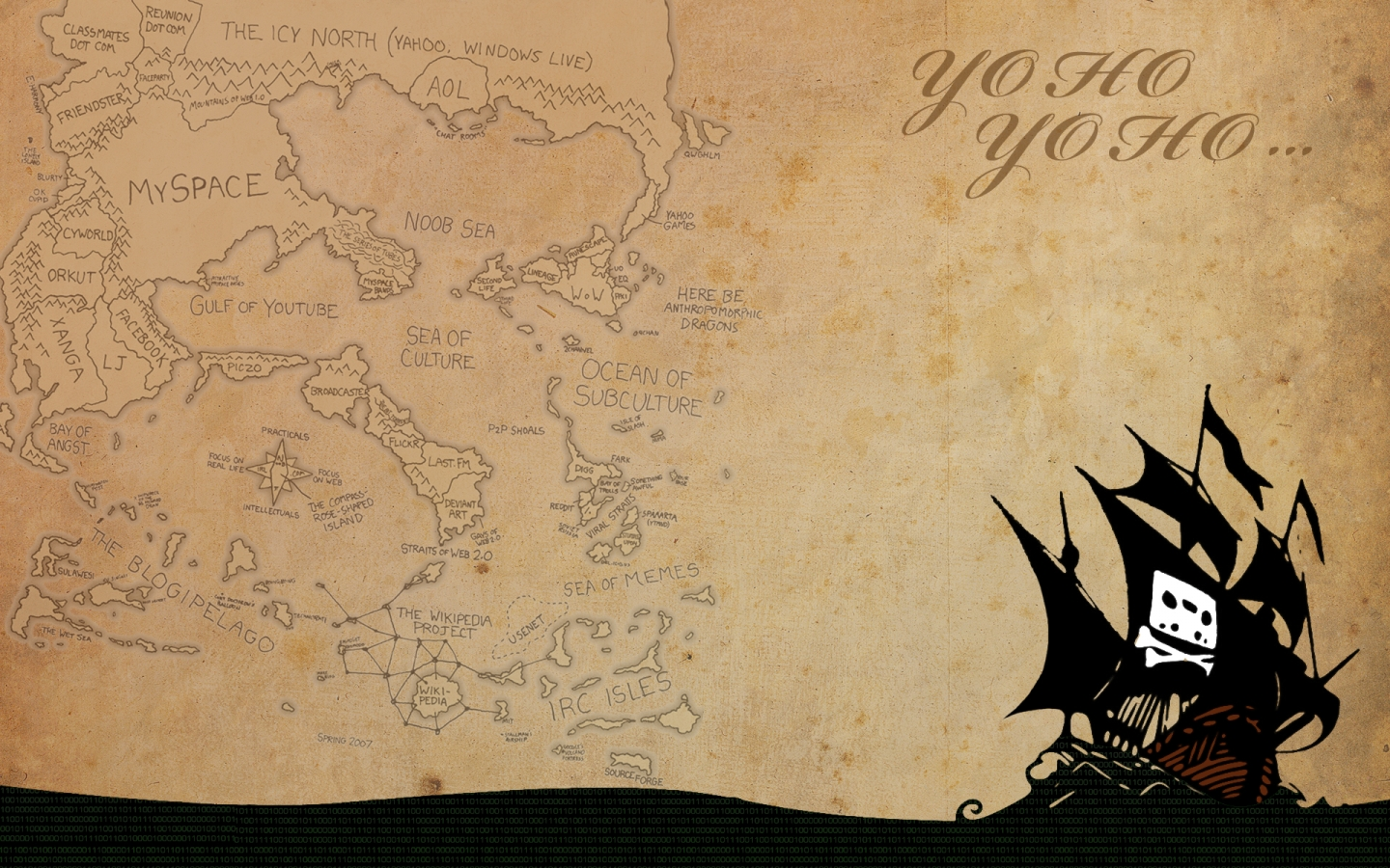 Papel de parede mapa pirata wallpaper para download no for Papel de pared negro