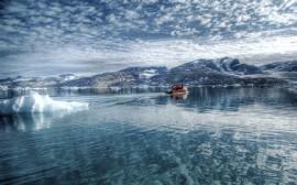 Papel de parede Mar Ártico